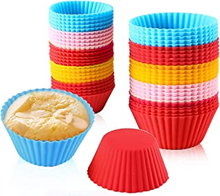 Silicone Mould Soap Mould Tart Cupcake Mini Muffin D50mm H15mm 15 Pieces New