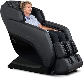 RELAXONCHAIR [MK-V] Full Body Zero Gravity Shiatsu Massage Chair with Built-in Heat and Air Massage System (Black)