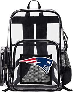 The Northwest Company New England Patriots NFL Dimension Clear Backpack