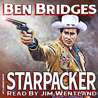 Starpacker audiobook cover art