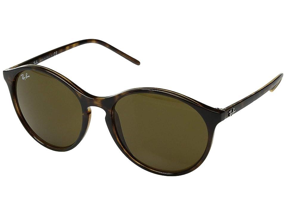 Ray-Ban RB4371 55 mm. (Havana/Dark Brown) Fashion Sunglasses