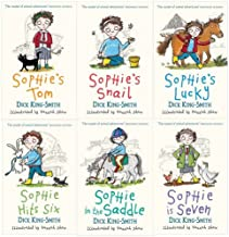 Dick King-smith Sophie Stories 6 Books Collection Pack Set (Sophies Snail, Sophies Tom, Sophie Hit Ix, Sophie in the Saddle, Sophie Is Seven, Sophie's Lucky) (Sophies Snail, Sophies Tom, Sophie Hit Ix, Sophie in the Saddle, Sophie Is Seven, Sophie's Lucky)