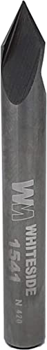lowest Whiteside Router discount Bits 1541 V-Groove 60-Degree 1/4-Inch Cutting Diameter 2021 and 7/32-Inch Point Length online sale