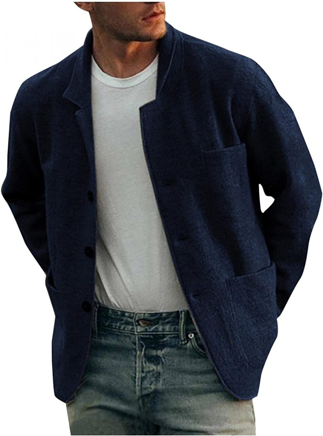 Stoota Mens Quilted Lined Flannel Blend Coll Jacket Cotton Stand It is very popular Ranking TOP10