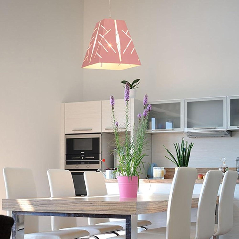AOKARLIA Deckenleuchte Leuchter Pendelleuchte Lampe Kreativ Eisenkunst Lampen Einzelkopf Licht Zum Wohn Schlafzimmer Esszimmer, F