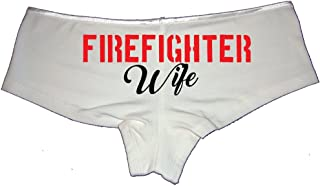 My Husband is My Hero - Firefighter Wife Sexy Booty Shorts Boyshort Panties