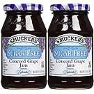 Smucker's Sugar Free Concord Grape Jam, 12.75 oz, 2 pk