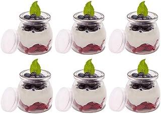 comprar comparacion Agreenway Botes para Yogurtera Vasos de Repuesto con Tapa para Yogurtera para Hacer Yogures o Postres Melmeladas, Salsas d...