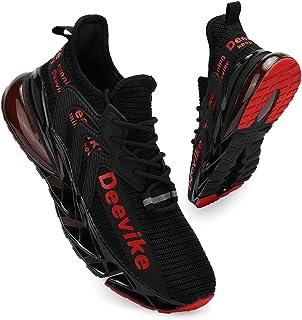 Deevike Basket Femme Chaussures de Sport Respirante Sneakers Chaussures Coussin d'air 36-42EU