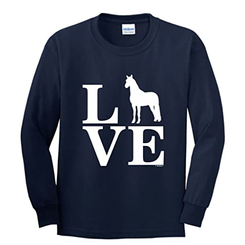 Just A Girl Who Love Horses Horse Lover Gift Toddler//Kids Long sleeve T-Shirt