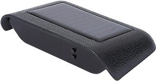 WINOMO Solar Car Clock High Precision Car Digital LED Alarm Clock Luminous Auto Dashboard Clock for Cars Home Desk Office...
