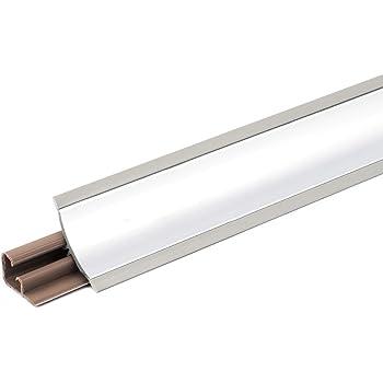 23mm 1.5m Joint de plan de travail Couleur: mat aluminium PVC