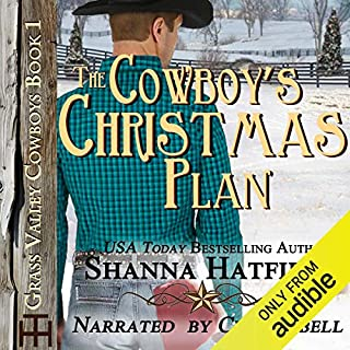 The Cowboy's Christmas Plan audiobook cover art