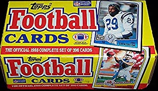 Topps 1988 Football Complete Set (396 Cards) Bo Jackson Rookie