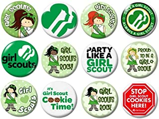 Girl Scout Buttons