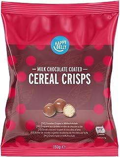 comprar comparacion Marca Amazon - Happy Belly Bolitas de cereales crujientes recubiertas de chocolate con leche 150g x 6
