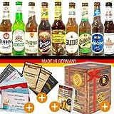 Bier Box für den Mann/Geschenkset zum Geburtstag/Deutsche Biersorten