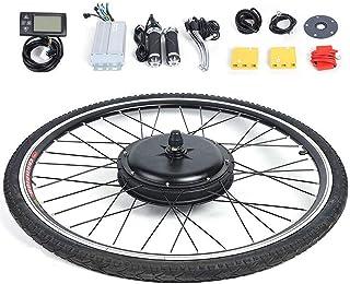 WUPYI2018 Kit de vélo électrique pour vélo électrique, vélo électrique, kit de conversion pour roue avant et vélo électrique