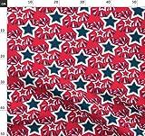 Großdruck, Sterne, Feuerwerk, Unabhängigkeitstag, Rot