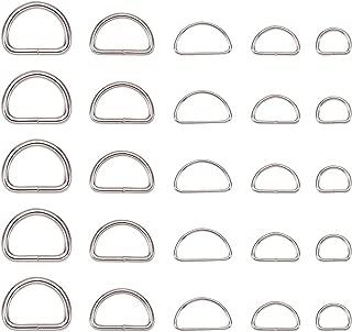 Fibiette da 26 a 30 mm fibie passanti minuteria metallica ricambi