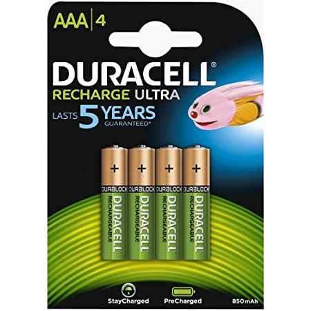 Duracell Aaa Hr03 Duralock Pre And Stay Charged Elektronik