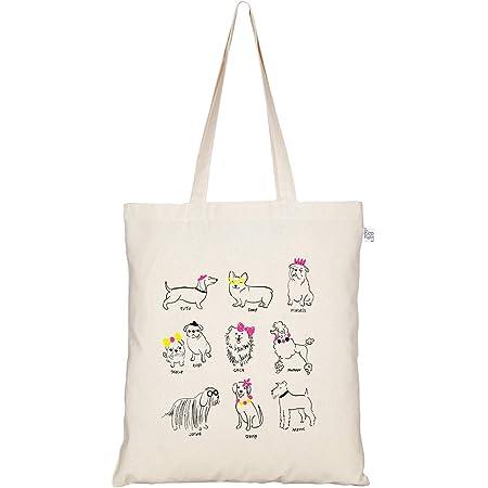 Donuts Tote Bag Print Canvas Tote Bags Cotton Bag Reusable Tote Eco Bag White Tote Bag Cute Tote Bag Colorful Donut Bag