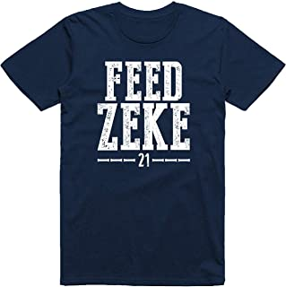 Wishful Inking Dallas Football Fans Feed Zeke Vintage Distressed Style Classic T-Shirt