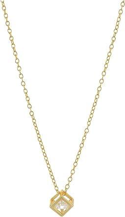 SHASHI - Cube Pendant Necklace