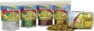 Real Seda 746, Glitter, PVC, Potes 3 g, Dúzia, Multicolor, Pacote de 12