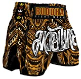 Pantalón Muay Thai Kick Boxing Buddha Retro Inca