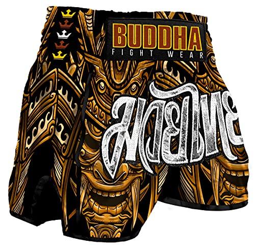 Muay Thai Kick Boxing Buddha Retro Inca