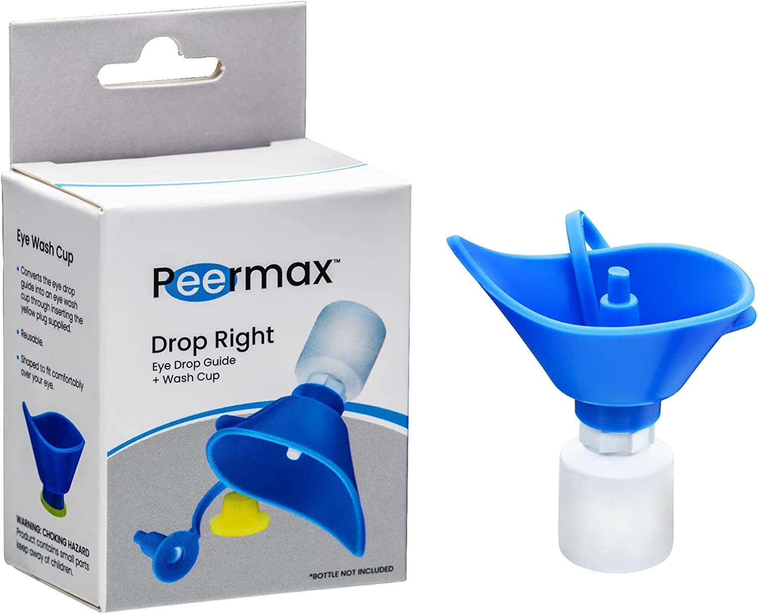 Peermax Drop Right 2 in 1 Eye wi Ultra-Cheap Deals Cup Free shipping on posting reviews Guide Works + Wash