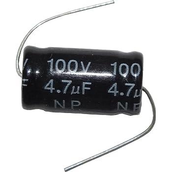Condensatore Elettrolitico 6,8 uF no polarizzato 100 VOLT filtro audio crossover