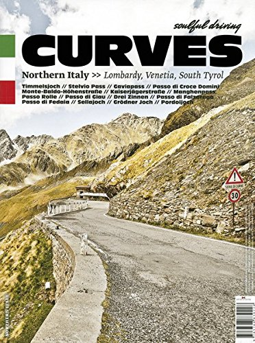 CURVES Northern Italy: Issue 3: Lombardy, Venetia, South Tyrol