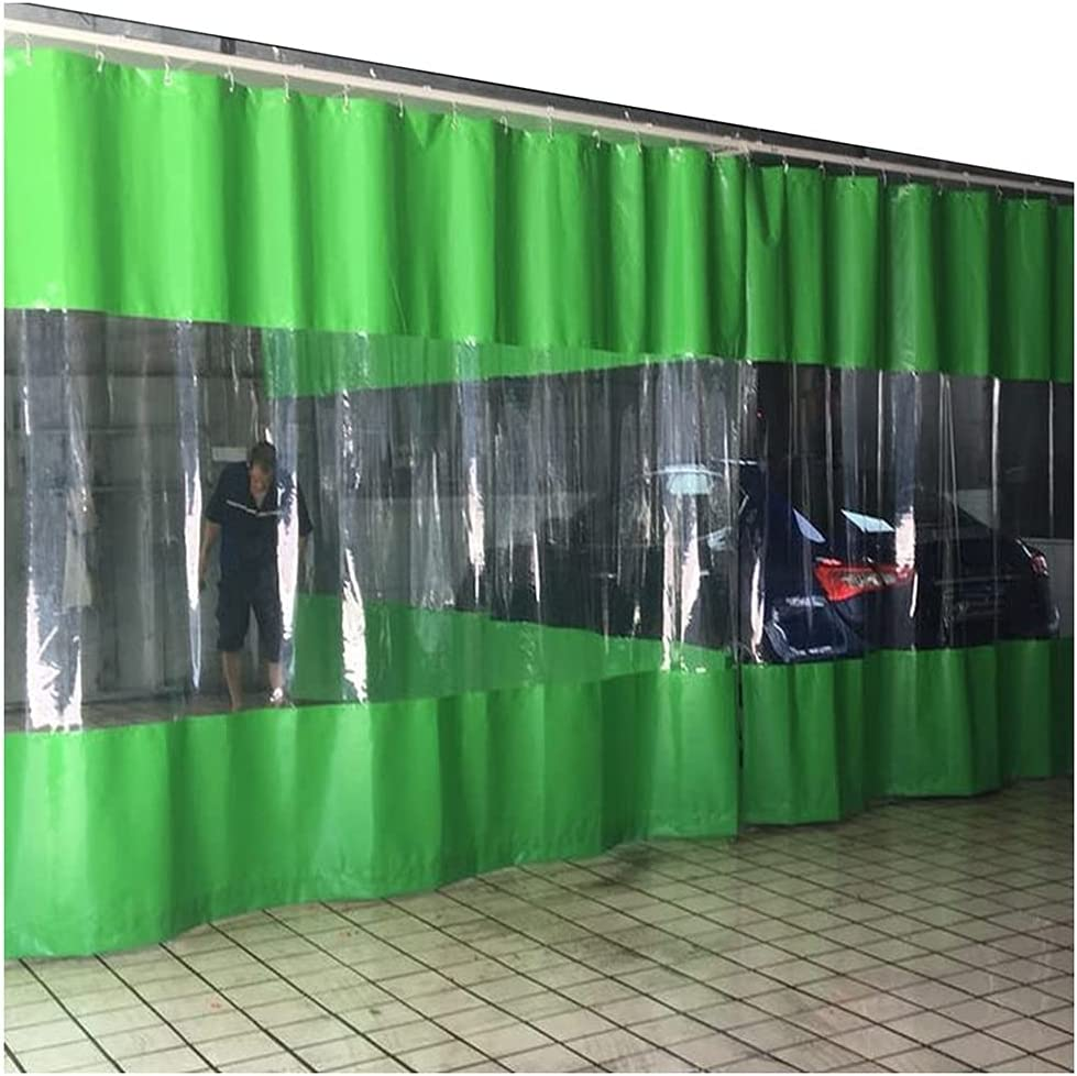 SHIJINHAO Stitching service Tarpaulin Transparent wi National uniform free shipping Curtains Partition
