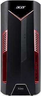 Acer Nitro 50 Desktop, Intel Core i7-8700, GeForce GTX 1060 Graphics, 16GB DDR4, 256GB SSD + 1TB HDD Storage, N50-600