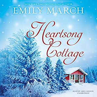 Heartsong Cottage     The Eternity Springs Series, Book 10              Written by:                                                                                                                                 Emily March                               Narrated by:                                                                                                                                 Amy Landon                      Length: 8 hrs and 41 mins     Not rated yet     Overall 0.0