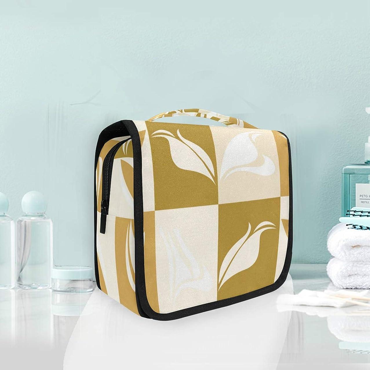 Cartoon Leaf Lattice travel cleaning cosmetic bag storage bag ladies cosmetic bag men and women wash bag