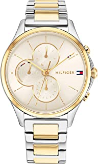 Tommy Hilfiger Women's Analogue Quartz Watch with Stainless Steel Strap 1782264