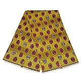 Afrikanischer Stoff, gelb, Wachstuch –
