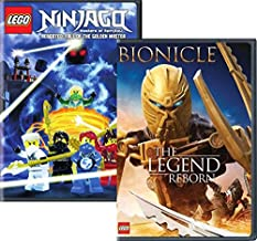 Lego 2-Movie set - LEGO Ninjago: Masters of Spinjitzu: Rebooted: Season 3 Part 2 & Bionicle: The Legend Reborn