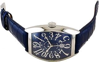 フランク・ミュラー FRANCK MULLER トノウカーベックス 8880 B SC DT REL ブルー文字盤 腕時計 メンズ (W211407) [並行輸入品]