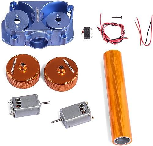 Mecotech WORKER Set de Pièces Accessoires Modifiés pour Nerf Pistolet Jouet STF CS-18 Flywheel (Orange + bleu)