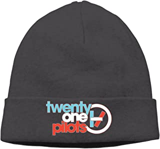 Twenty One Pilots Band Color Logo Cap Slouchy Beanie Woolen Cap Ski Hat