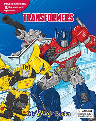 Transformers My Busy Book