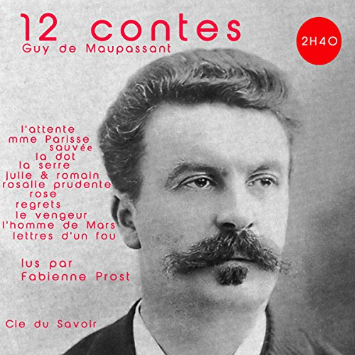 12 contes de Maupassant audiobook cover art