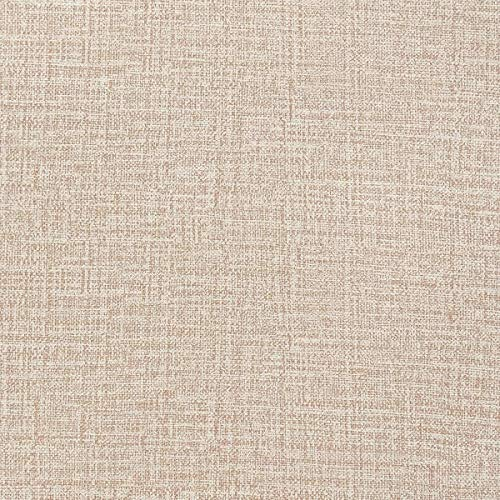 """Caltero Grasscloth Peel and Stick Contact Paper 17.7"""" x 118"""" Faux Linen Contact Paper Grasscloth Wallpaper Textured Wallpaper for Home Decor Cabinet Kitchen Countertop Shelf Drawer (Khaki)"""