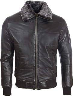 Aviatrix Men's Real Leather Pilot Aviator Fashion Jacket (ZADV)