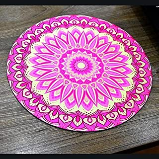 Printed Round Non Slip Rubber Mouse Pad