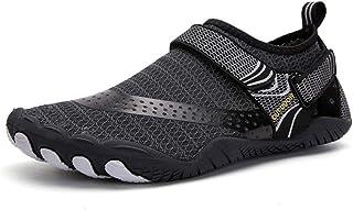 GBZLFH Zapatos de Agua de Verano, Zapatos de Senderismo para Hombres con Cinco Dedos al Aire Libre, Zapatos de Buceo de Pl...
